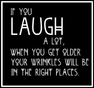 laugh wrinkles