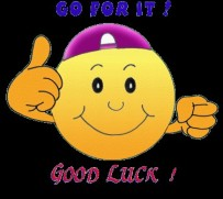 goforit good luck