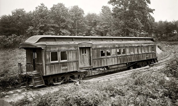 old-passenger-train-car