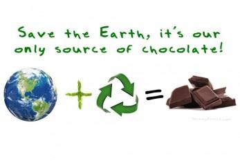 earthday chocolate