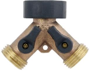 y-faucet connector