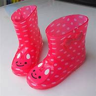 kids plastic boots