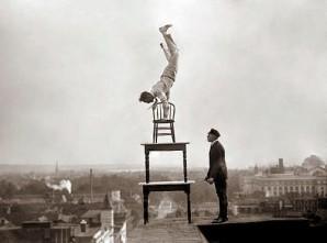 crazy balancing act