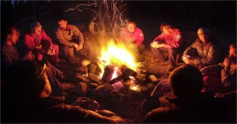 teen bonfire